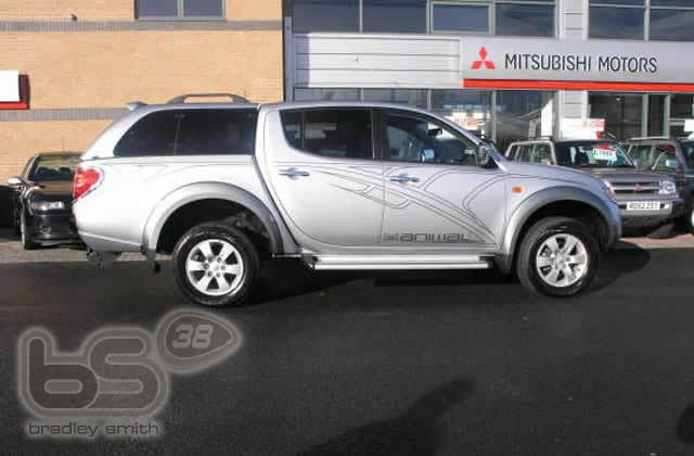 Mitsubishi UK sponsorship deal 2006 » dley Smith #38
