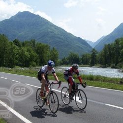 <p>Bradley goes altitude training in the Pyrenees in preparation for the 2007 Season.</p>