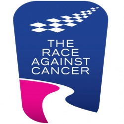 <p>Bradley shows his support to 'Race against Cancer'</p>