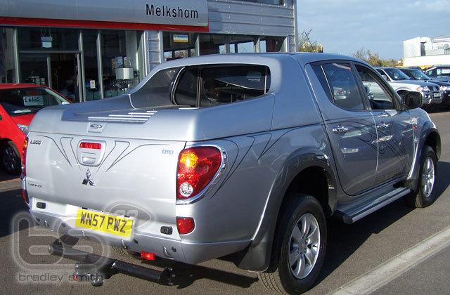 Mitsubishi UK sponsorship deal 2008 » dley Smith #38