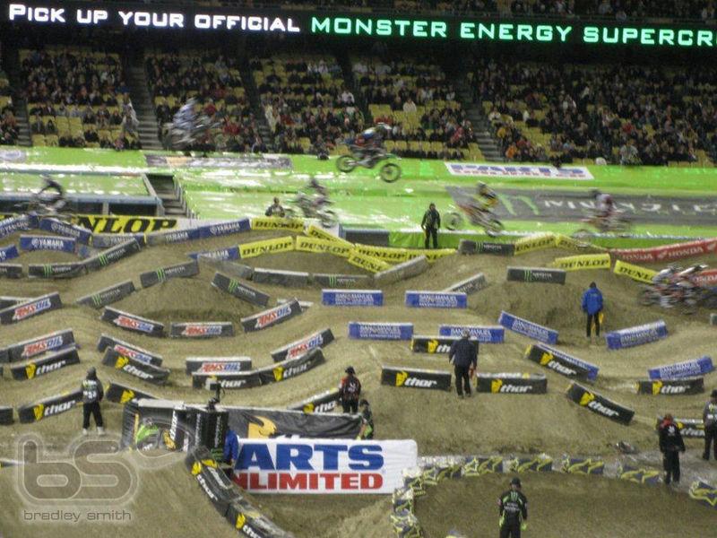 monster energy ama supercross usa 2012 bradley smith 38. Black Bedroom Furniture Sets. Home Design Ideas