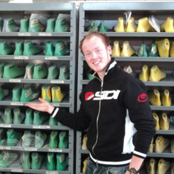 <p>Exclusive pictures from Sidi Sport of Bradley's visit to the factory.<br />Photos courtesy of&nbsp;<strong>&copy;Sidi Sport&nbsp;</strong></p>