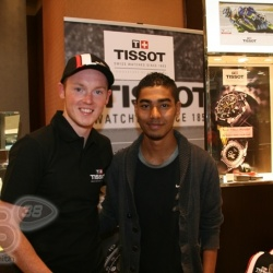 <p>Recent images from Bradley's appearance at Fraser Hart, Westfield Stratford for Tissot.</p>