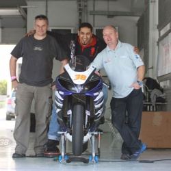 <p>Various images of Bradley advising local riders&nbsp;<span>at the Bahrain International Circuit where he has been riding a specially prepared Yamaha R1 road bike by Pete Beale Racing.</span></p>