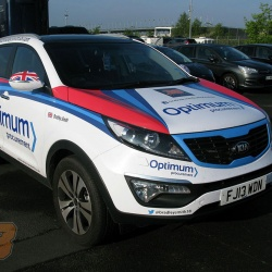 <p>With Bradley now a third of the way through his rookie season in MotoGP, we thought it would be a good time to show you the car he's been using during these european races. Kindly donated by Optimum Procurement/Optimum Fleet Management with custom patriotic vehicle wrap!</p>