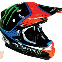 "<p><span>Sneak Peek of Bradley's new </span>Shoei VFX-w Monster Energy MX practice helmet, custom painted by OCD.<br />Photos courtesy of&nbsp;<strong>&copy;<a href=""http://www.ocd.tm.fr/index.asp"" target=""_blank"">OCD</a></strong></p>"