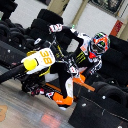 <p><span>Various images of Bradley&nbsp;at Formula Fast Indoor Karting in Banbury, filming '<span>behind the scenes' footage for Dorna.</span></span><br /><br /><span>Photos courtesy of&nbsp;</span><strong>&copy;Dorna</strong></p>