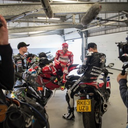 <p>Images from the <span>BT Sport Media Track Day at Silverstone, </span>to promote the British round of MotoGP and it's<span> live coverage on BT Sport.</span><br /><br />Photos courtesy of <strong>©</strong><strong><strong><strong>c1photography </strong></strong></strong>& <strong>Adam Phillips/WMG</strong></p>