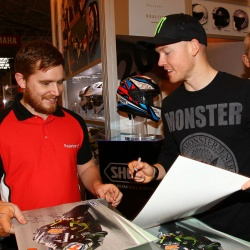 <p><span>Images from Motorcycle Live</span><span>,&nbsp;</span><span>where Bradley undertook signing sessions for his personal sponsors Shoei, Oxford Products, and Yamaha. He was also part of the GP Clinic with&nbsp;</span>Sam Lowes and Jeremey McWilliams hosted by James Whitham.</p>