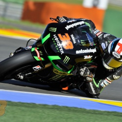 <p>A few of Bradley's 'eagle eyed' fans may have noticed him using a different helmet during the Valencia test the day after the final round of the current MotoGP season.</p>