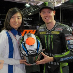 "<p>Bradley commisioned a special edition Shoei helmet for his appearance in Japan this weekend.<br /><br /> <strong>Bradley Smith:</strong><em><br />""I will be wearing a special helmet at Motegi which I hope the Japanese fans will appreciate.""</em></p>"