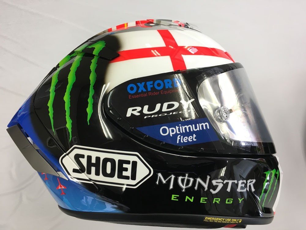 japan 2016 shoei helmet bradley smith 38. Black Bedroom Furniture Sets. Home Design Ideas