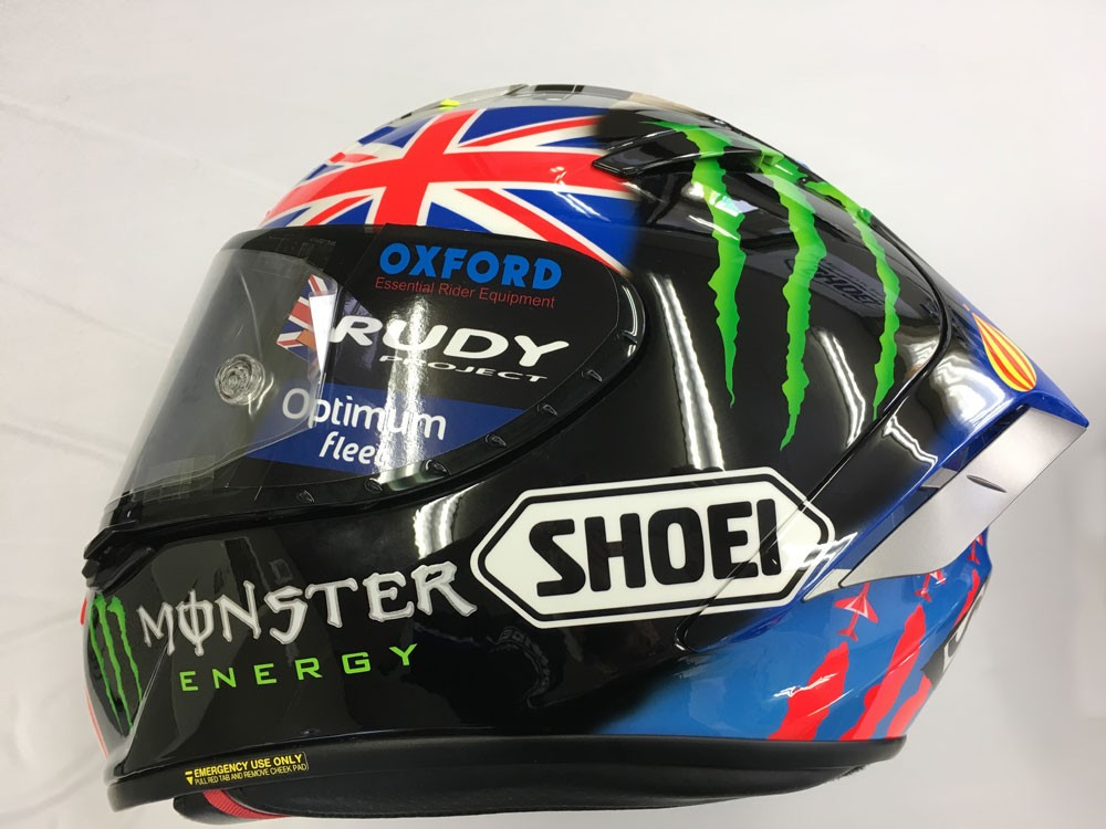 Japan 2016 Shoei Helmet » Bradley Smith #38