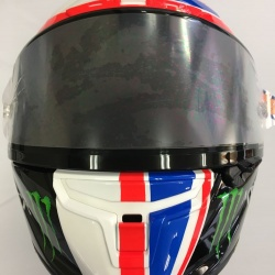 "<p>Bradley commisioned a special edition Shoei helmet for his appearance at Silverstone earlier in the year. Sadly due to the injury he sustained whilst riding in the World Endurance Championship he did not have the opportunity to use it until now.</p><p><br></p><p>Bradley Smith:<em><br>""I will be wearing a special helmet at Motegi which I hope all my fans will appreciate.""</em></p>"