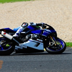 <p>Bradley Smith at the Pannonia-Ring in Hungary, testing for Yamaha Austria Racing Team in preparation for the 8 Hours of Oschersleben endurance race.</p>