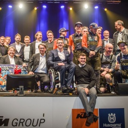 <p>Images from the KTM Christmas Party in Austria.