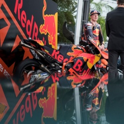 <p>Images from the Red Bull KTM MotoGP Team Launch at Hangar-7, Austria.