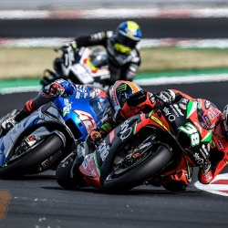 <p>Photos courtesy of<span>&nbsp;<strong>©</strong></span><strong>Aprilia Racing Team Gresini</strong></p>