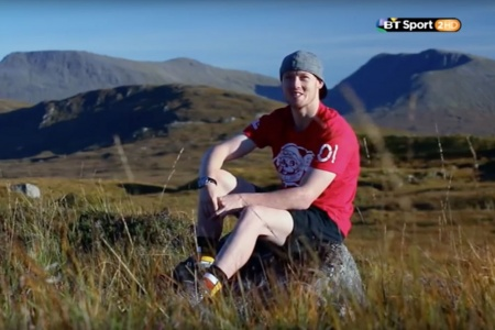 Bradley Smith takes a hike with the BT Sport Crew