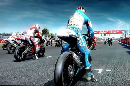 MotoGP 2010/11 Video Game featuring Bradley Smith