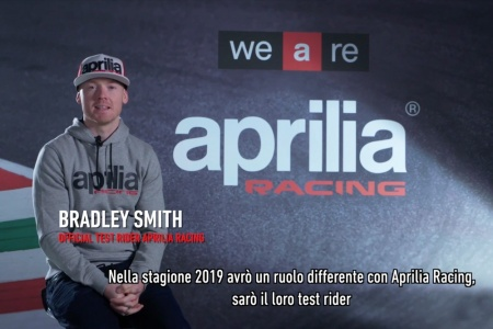 2019 Aprilia Racing - Bradley Smith Interview