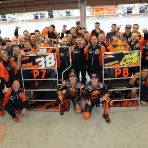 Best MotoGP qualifing for Red Bull KTM at Motegi