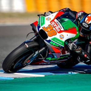 Smith on the track for April at the final test of 2018 in Jerez