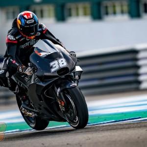 Aprilia concludes the MotoGP Tests at Jerez