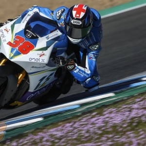ONE Energy Racing and Bradley Smith roll out new colours at first MotoE test of 2019